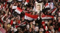 Pro-Morsi demonstration in Cairo
