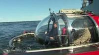 Vladimir Putin in a submarine