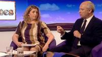 Penny Mordaunt and Nick Harvey