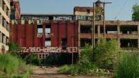 Abandoned Packard Motor Car manufacturing plant, Detroit