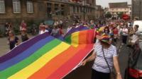 Norwich Pride event