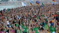 Rio de Janeiro worshippers