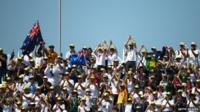 Australian fans at Trent Bridge