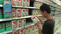 Chinese consumers are unhappy about the contamination and many say that they have lost faith in imported milk products