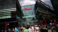 Shoppers at Westfield shopping centre, Stratford