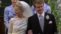 Prince Friso on his wedding day