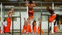Prisoners in US jail