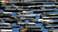 Police recovered 254 firearms in New York City