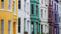 Row of Terraced Houses in West London
