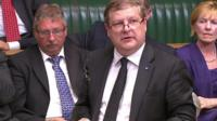 SNP MP Angus Robertson (centre)