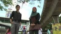 Two Malaysian students