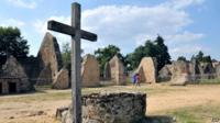 Ruins in Oradour-sur-Glane