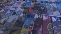 A collection of Leftlion magazines