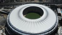Mario Filho (Maracana) stadium in Rio de Janeiro. One of the venues for the Rio 2016 summer games.