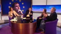 Jo Coburn, Andrew Neil, Susan Krame and Mark Pritchard