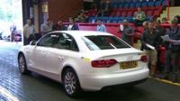 A car at a sale