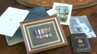 The medals and memorabilia up for auction