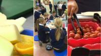 Fruit & children