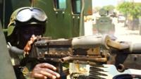 Somlia peacekeeping soldier