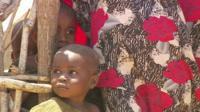 Children living in a rubbish dump in Kismayo