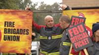 Fire Brigades Union strike