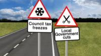 Council funding graphic