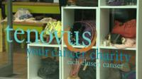 Tenovus shop window