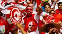 Tunisian football fans
