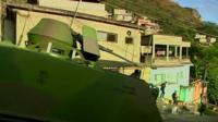 Security operation in Rio de Janerio