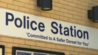 Dorset Police Station sign