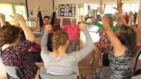 People at Southbourne Creative Hub celebrating