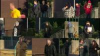 Defendants in the 'cash for crash' case