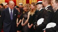 The Duke of Edinburgh attends a reception to celebrate the 500th anniversary of his Duke of Edinburgh Award