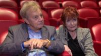Frazer Hines and Deborah Watling