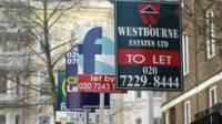 Rent signs