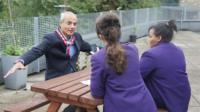 George Alagiah speaking to School Reporters