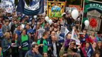 Teachers protest in Bristol