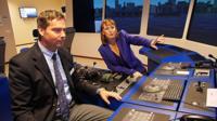 Driving a virtual cruise ship