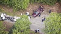 Aerial view of the Al-Hilli family murder crime scene near Annecy