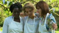 Kimberley Wilson, Ruby Tandoh and Frances Quinn