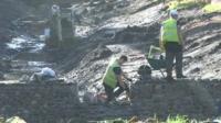 The dig near Cardiff Castle