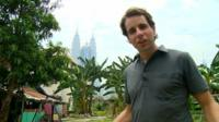 Mark Beaumont in Malaysia