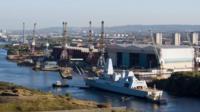 Govan shipyard