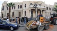 Scene of Damascus blast