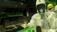 Rupert Wingfield-Hayes inside Reactor Building 4, Fukushima