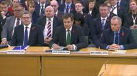 Andrew Parker the head of M15, John Sawers the head of M16 and Iain Lobban GCHQ director