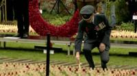 Field of Remembrance, at Lydiard Park, Wiltshire