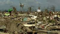 Rupert Wingfield-Hayes in Tacloban