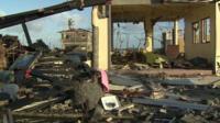 Devastation in Palo