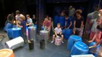 DrumA at Stomp workshop